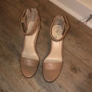 NEW! Bar III Nude Heels